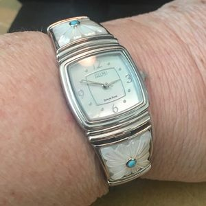 Ecclissi Southwestern MOP & Turquoise Watch
